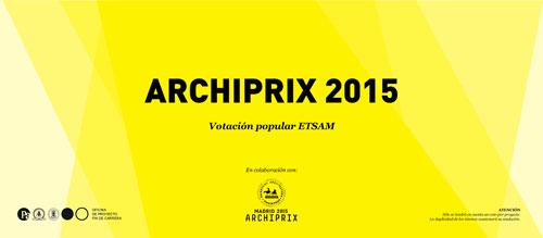 Archiprix 2015