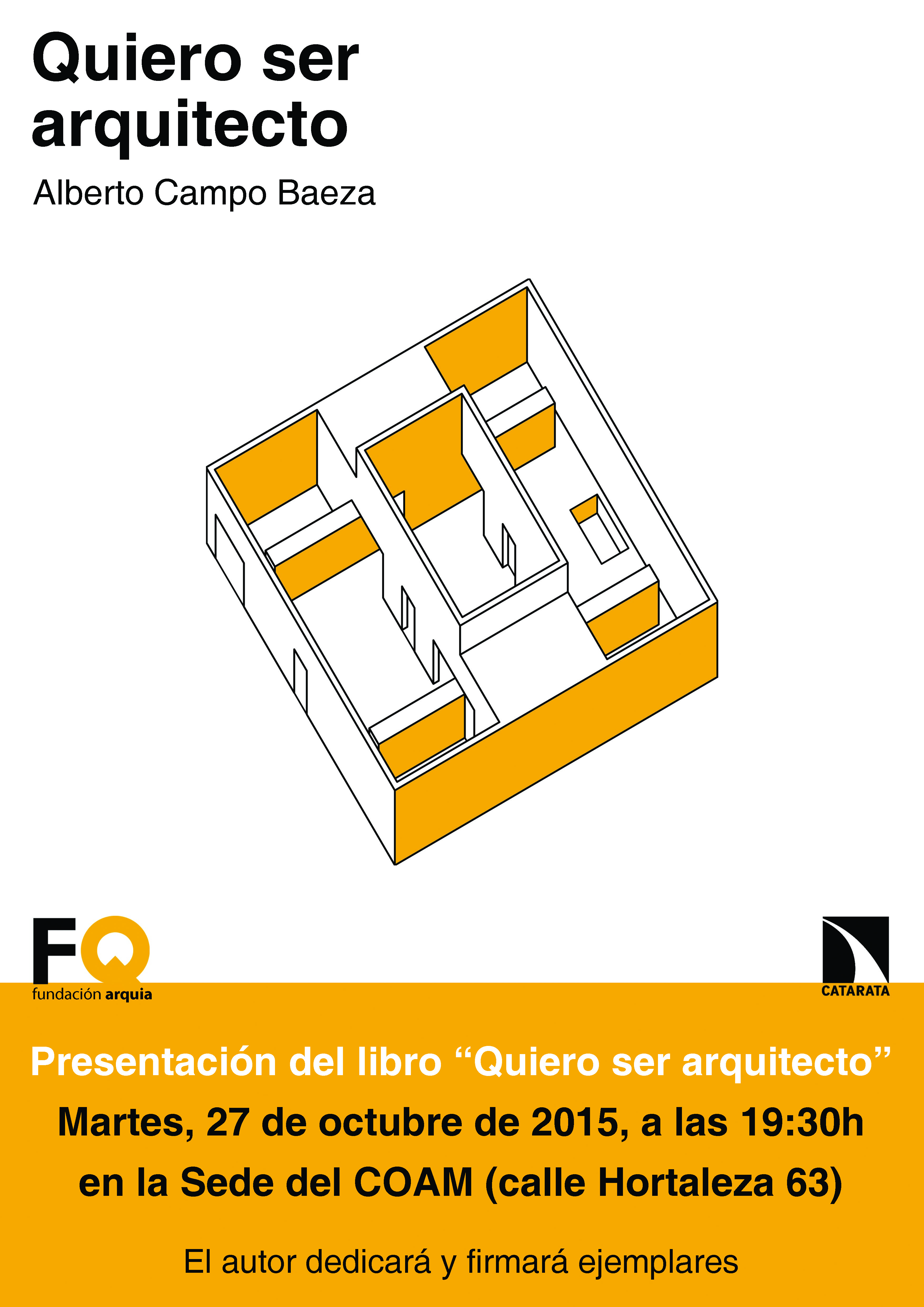 Cartel presentacion Catarata COAM