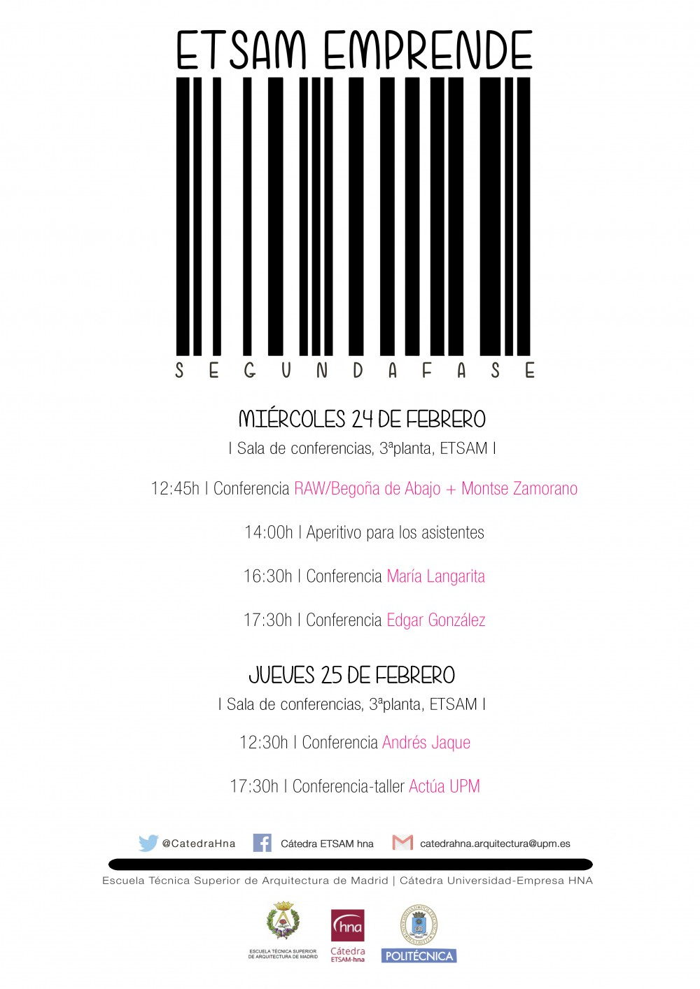 2016 0209_CONFERENCIAS etsam emprende