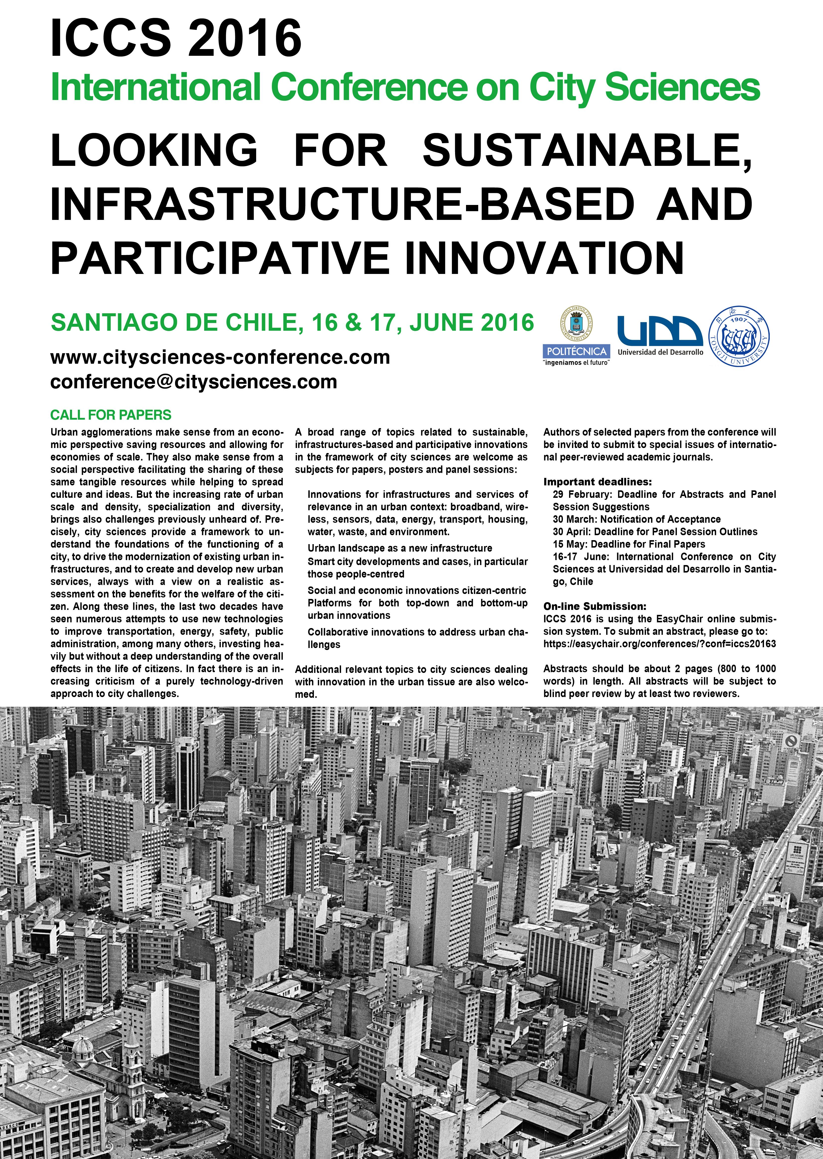 ICCS 2016 Santiago de Chile