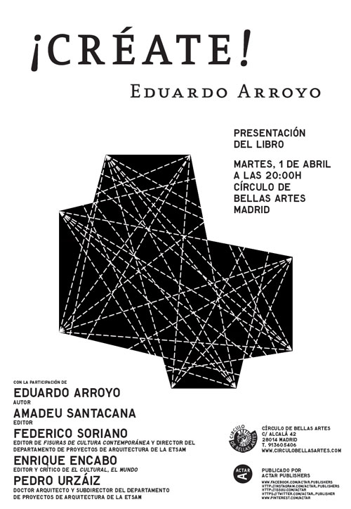 ¡Créate! Eduardo Arroyo