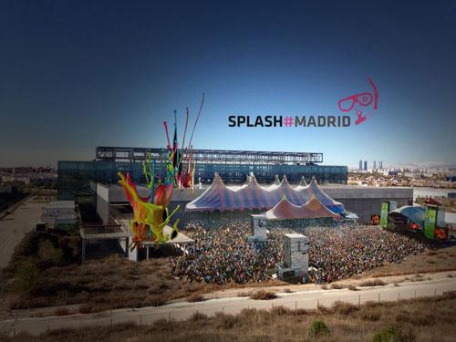 Splash#Madrid
